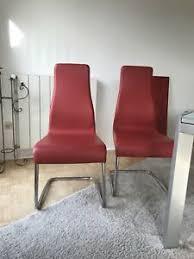 esszimmerstühle leder ebay kleinanzeigen
