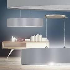details zu design esszimmer leuchten hängele pendelleuchte wohn zimmer le stoff grau