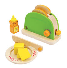 hape pop up toaster wooden play kitchen set with accessories real