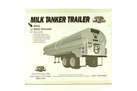 100 Milk Truck Tester TrailersDHS Diecast Collectables Inc