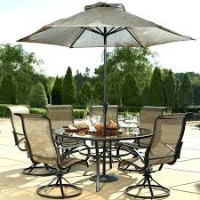 6 Person Patio Table Large Size Of Dining Set Round