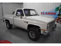100 1984 Chevy Truck For Sale Chevrolet C10 For ClassicCarscom CC1187409