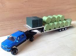 100 Custom Toy Trucks ERTL 164 Cummins Flatbed Heavy Hauling Farm Toy
