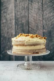 kürbis torte mit walnüssen