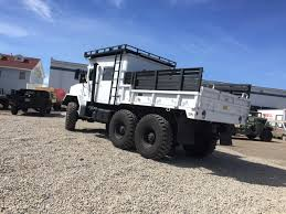 100 6x6 Military Truck Want To See A Crush An Old Buick We Thought So