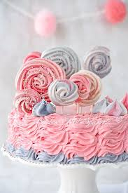 baiser lollis torte