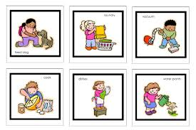 activities at home clipart 1
