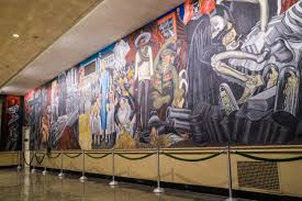 Jose Clemente Orozco Murals by Dartmouth Murals Become National Historic Landmark New Hampshire