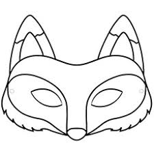 The Create Your Fox Mask