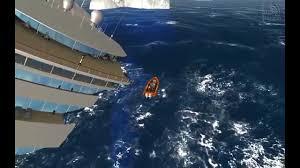ms oceana sinks ship simulator extremes youtube