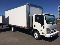 100 20 Ft Truck 15 Isuzu NPR EFI Dry Van Box Bentley Services