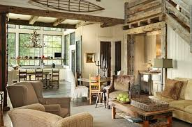Cottage Rustic Living Room