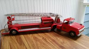 VINTAGE 1960'S TONKA Hydraulic Aerial Ladder TFD Red Fire Engine ... Tonka 1964 Fire Truck Hydrant 100 Original Patina One Owner Nice Vintage 1955 Tonka No 950 6 Suburban Pumper Fire Truck With Fire Truck On Shoppinder Metal Firetruck Vintage Articulated Toy Superior Auction 5 Water 1908254263 Suburban 1963 Paint Real Dept Hose Ladder Tfd A Sliding Ladder Vintage Toys Hydrant Wwwtopsimagescom Toys 1972 Aerial Photo Charlie R Claywell