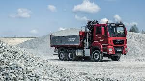 MAN TGS 28.500 6x4-4 BL Tipper Truck With Crane (2019) Exterior ...