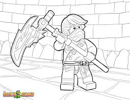 Coloring Page Tournament Elements Printable Color Sheet Ninjago Fire Dragon Pages Lego Four Headed Full