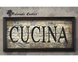 tuscan kitchen decor etsy