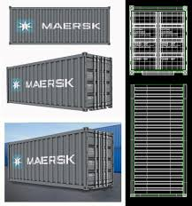 100 Shipping Container Model 3ds Max Shipping Container Freelancers 3D