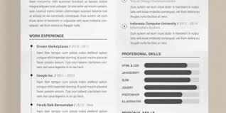 Free Nice Resume Templates