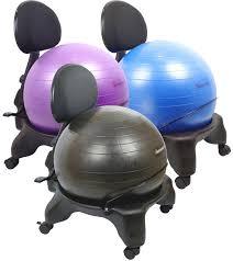Gaiam Classic Balance Ball Chair Charcoal by Furniture Office Gaiam Balance Ball Chair Modern New 2017 Office
