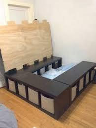 Step 2 Lifesavers Highboy Storage Shed by 17 Easy To Build Diy Platform Beds Perfect For Any Home Platform