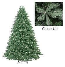 Ge 75 Artificial Christmas Tree by Amazon Com Ge 7 5 U0027 Pre Lit Just Cut Frasier Fir Full Artificial