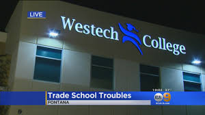 Pumpkin Patch Victorville Ca by Westech College To Shut Down Operations Immediately Cbs Los Angeles