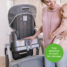 Ingenuity SmartServe 4-in-1 High Chair With Swing Out Tray ...