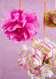 How To Make A Beautiful Floral Tissue Paper Bow