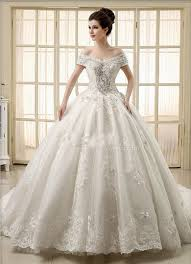 2015 ball gown wedding dresses beaded crystal cathedral train