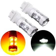 best 2x dual color cree led auto turn signal car turn signal stop