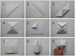 How Do You Make Origami Fortune Tellers Remember Making Simple As