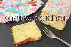 saftiger zitronenkuchen rezept konfetti kuchen geburtstagskuchen backen einfach schnell
