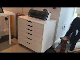 Ikea Alex Draw Unit on Casters