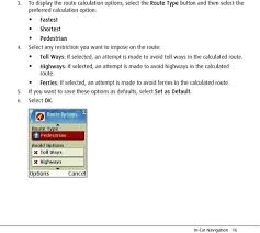 100 Truck Route Mapquest MapQuest Navigator User Manual PDF