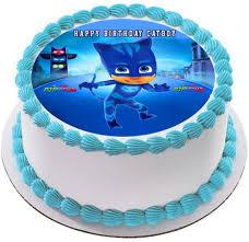 PJ Masks Cat Boy Edible Birthday Cake Topper OR Cupcake Topper Decor