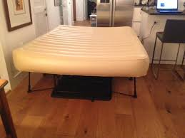 frontgate ez bed inflatable guest bed queen in hudson county
