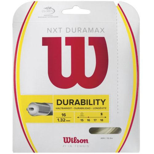 Wilson NXT Duramax Tennis String Set - 16 Gauge
