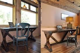 Rustic Office Desk Pottery Barn Style