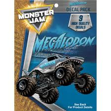 Megalodon Truck Decal Pack - Monster Jam Stickers | Decalcomania Monster Trucks Wall Stickers Online Shop Truck Decal Vinyl Racing Car Art Blaze The Machines A Need For Speed Sticker Activity Book Cars Motorcycles From Smilemakers Crew Wild Run Raptor Monster Spec And New Stickers Youtube Build Rc 110 Energy Ken Block Drift Self Mutt Dalmatian Pack Jam Rockstar Sheets Get Me Fixed And Crusher Super Tech Cartoon By Mechanick Redbubble Ford Decals Australia