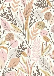 komar fototapete vliestapete twigs glatt bedruckt geblümt floral realistisch 200 x 280 cm