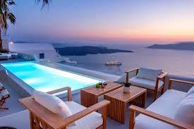 100 Santorini Grace Hotel Greece Villa With Private Pool Riginos Realty