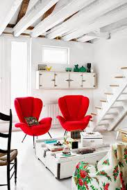 Choosing Red Accent Chairs For Living Room - Nicole Frehsee Home