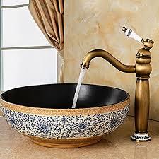 bl antike alle kupfer badezimmer waschbecken wasserhahn