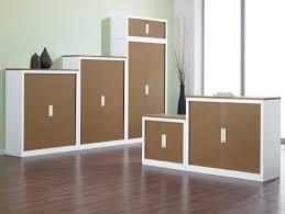 Wall Mounted fice Cabinets Tall Wood Storage Cabinet With Doors