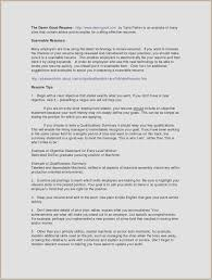 Good Summary Of Qualifications For Resume Examples Samples Skills