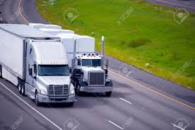100 Images Of Semi Trucks Two Heavy Big Rigs Various Types And Models With