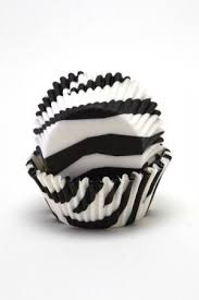 Zebra Print Cupcake Cases For Standard Size Cupcakes At Emerald Ella I WANT THESEEE