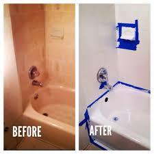 Homax Tub And Tile Refinishing Kit Canada by Bathtub Resurfacing Kit Tubpotion Completed Bathtub Refinishing