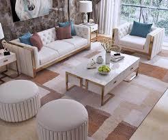 luxus samt sofa polster sitz garnitur 322 komplett set designer sofas neu