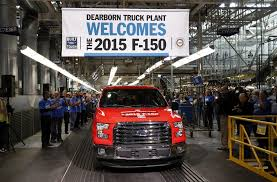 Ford's New F-150 To Get 26 Mpg, Tops Among Pickups - The San Diego ... Michigan Supplier Fire Idles 4000 At Ford Truck Plant In Dearborn Tops Resurgent Us Car Industry 2013 Sales Results Show The Could Reopen Two Plants Next Friday F150 Chassis Go Through Assembly Fords Video Inside Resigned To See How The 2015 F Announces Plan To Cut Production Save Costs Photos And Ripping Up History Truck Doors For Allnew Await Takes Costly Gamble On Launch Of Its Pickup Toledo Blade Plant Vision Sustainable Manufacturing Restarts Production